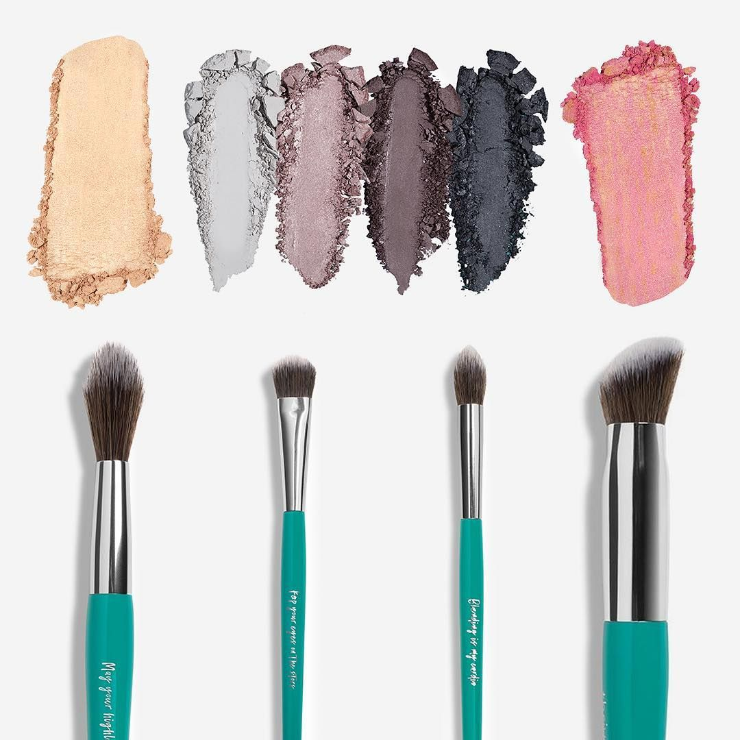 Our Smart Sweep Vegan Fiber Brushes are your newest beauty