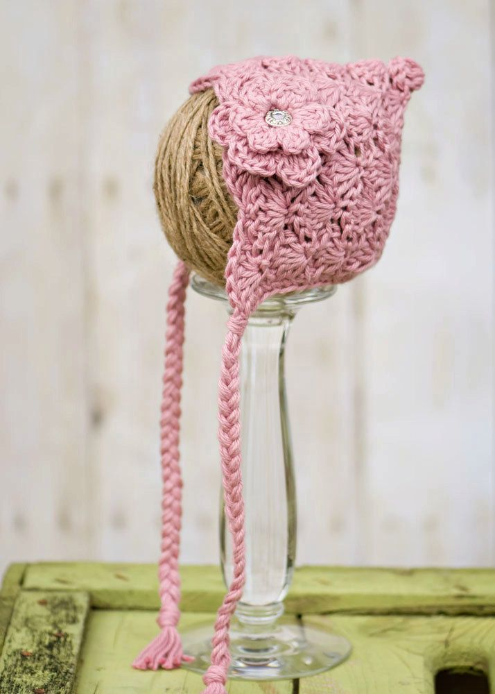 Pixie Bonnet crochet inspiration | Crochet/Knitting | Pinterest ...