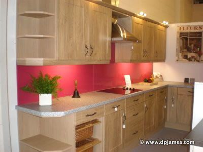 high gloss red splashback wood kitchen doors kitchen google search