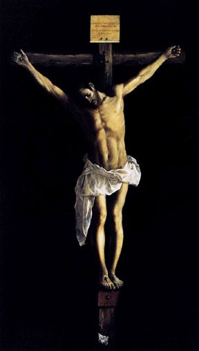 Crucifixion, Francisco de Zurbaran (1627)