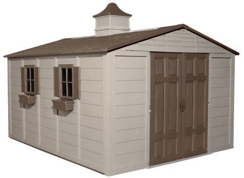 Suncast A01b37c03 Storage Building 10 Ft X 12 Ft By Suncast 1699 98 Measures 10 By 12 Cheap Garden Sheds Building A Storage Shed Outdoor Storage Buildings
