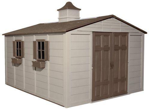 Suncast A01b37c03 Storage Building 10 Ft X 12 Ft By Suncast 1699 98 Measures 10 By 12 Cheap Garden Sheds Building A Storage Shed Outdoor Storage Buildings