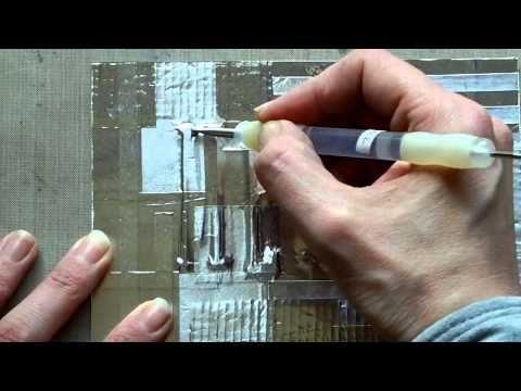 werken met alu tape.
