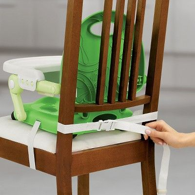 Chicco Pocketsnack Chair Booster Seat  Green  Products Interesting Booster Seat For Dining Room Chair Design Ideas