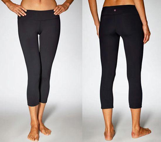 tight capri workout pants - Pi Pants