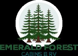 Cabins Rv Park Resort Amenities At Emerald Forest Trinidad Ca In 2020 Trinidad California Forest Cabin Rv Parks