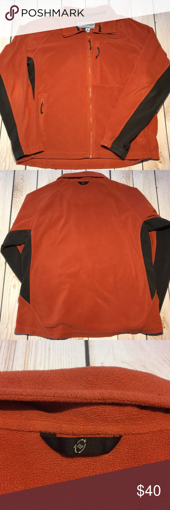 Columbia titanium fleece jacket in my posh picks pinterest