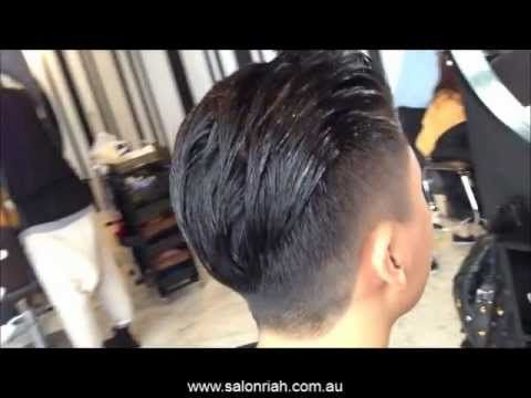 how to style hair back men s classic all back hairstyle hair cuts 6433 | 42293e3c5f1f9bb4e23f4c57b9621c60
