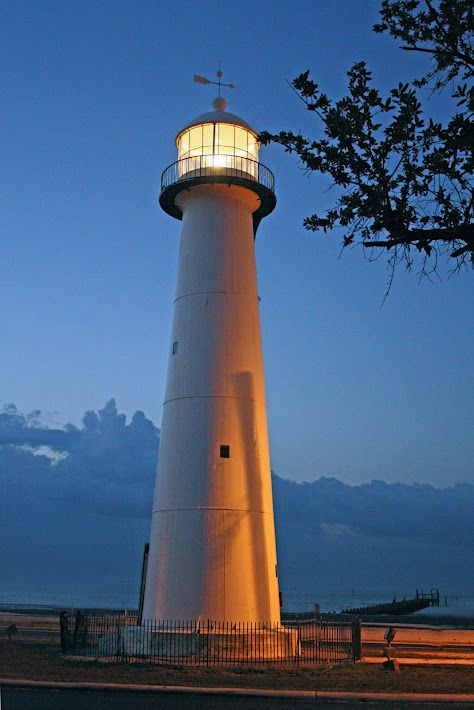 Biloxi Mississippi Lighthouse Of All The Lighthouses That Once