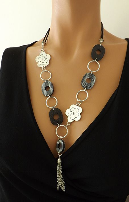 collier femme elegant