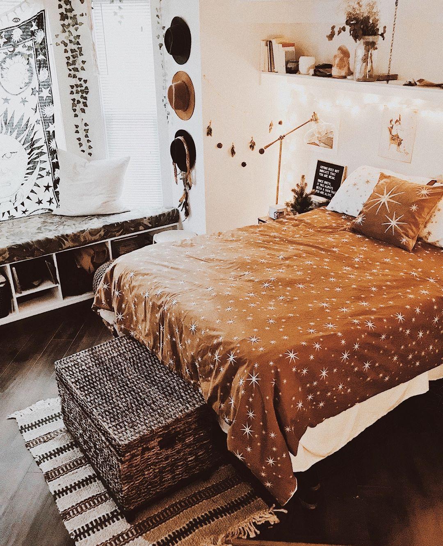 December Holidays Warm Bedroom Room Decor Bedroom Room Decor Warm bedroom ideas pinterest
