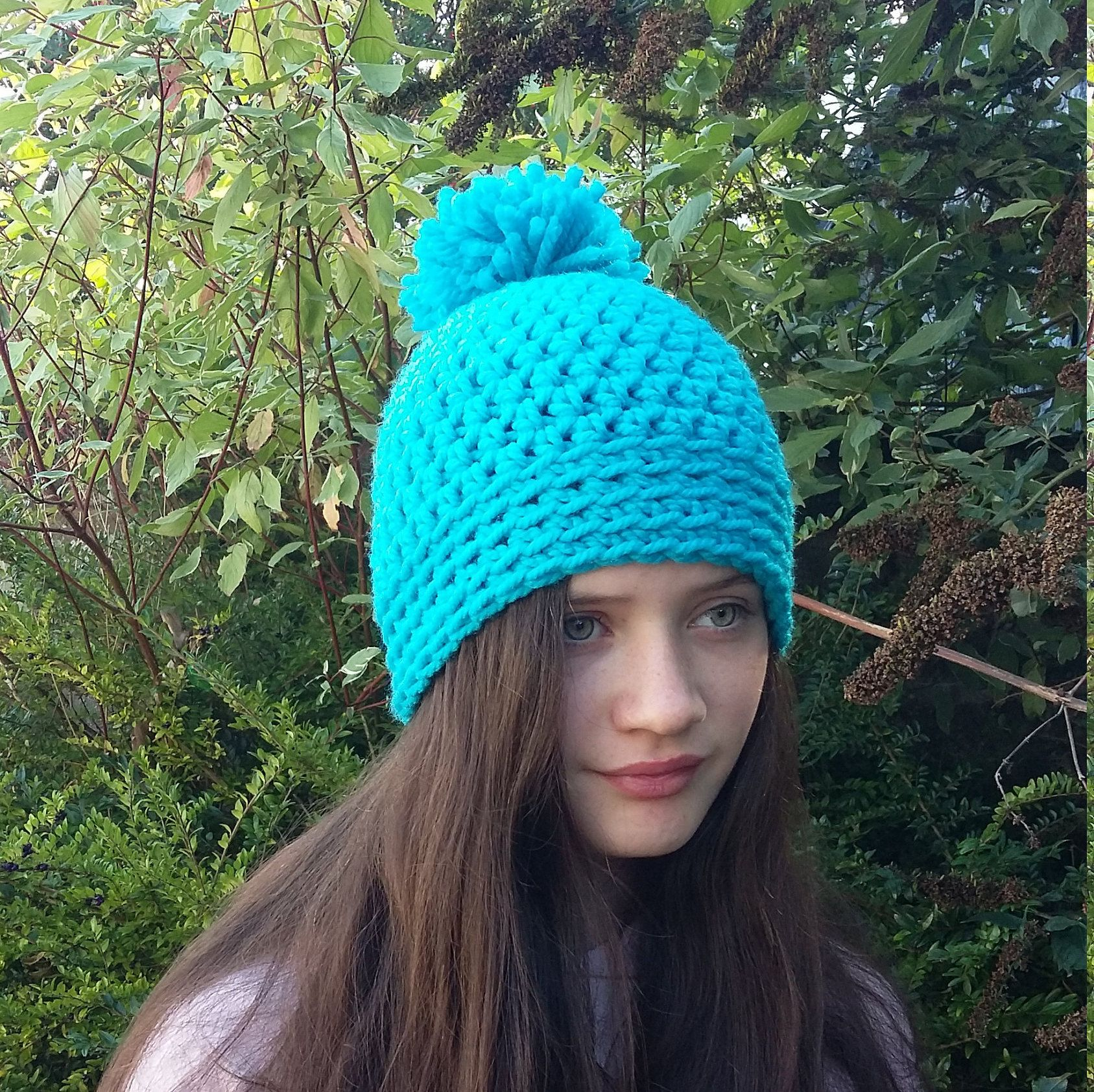 7ec9a5a2993e3 Ladies winter hat.  hats  fashion  woollyhat  crochethat  handmadehat