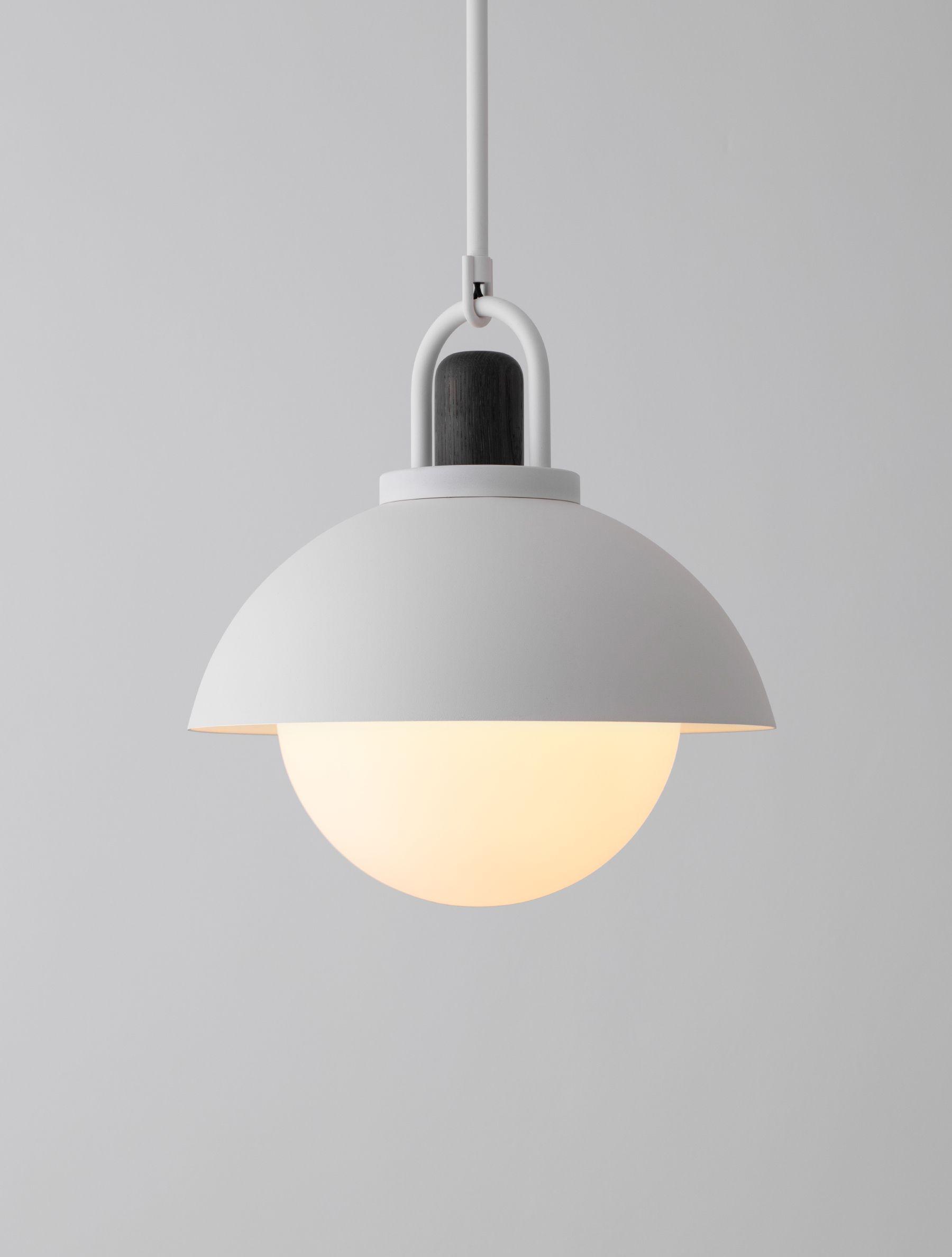 Arc Dome 14 Glass Diffuser Ceramic Lamp Bedroom Ceiling Light
