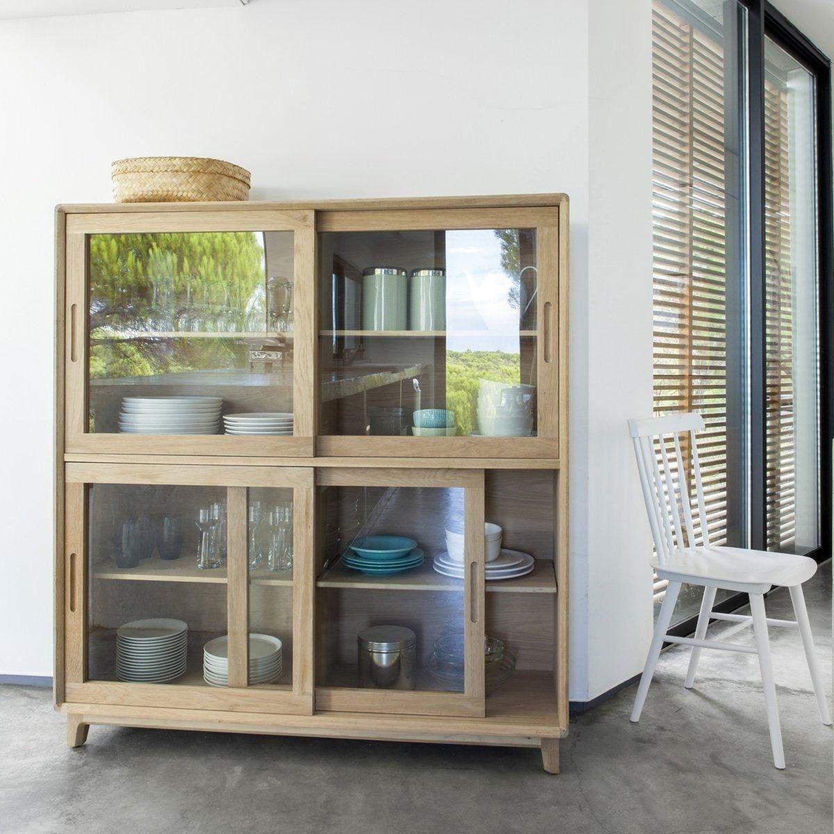 Buffet Jerk 4 Portes Vitrees Am Pm La Redoute Idees De Meubles Mobilier De Salon Deco Maison