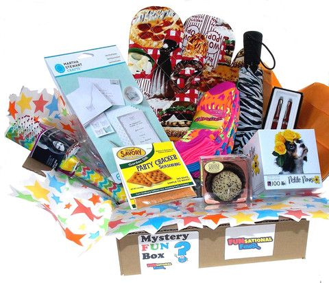 Women S Mystery Fun Box Subscription Box Monthly Box Box Of The