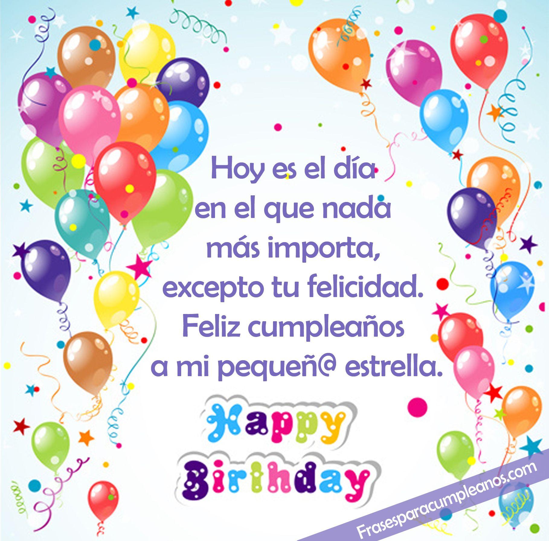Deseos De Cumpleaños Para Hija Citas De Felicitaciones De