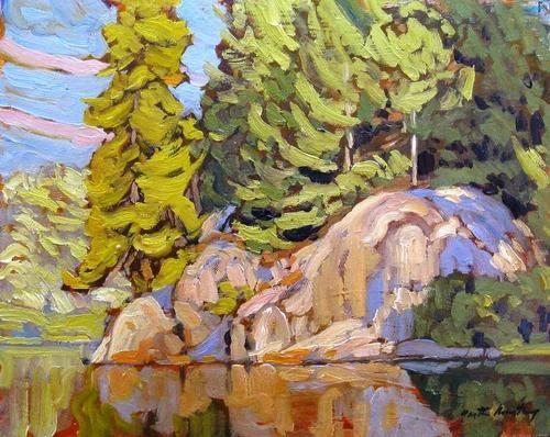 Garth Armstrong - Daisy Lake Algonquin Park 8 x 10