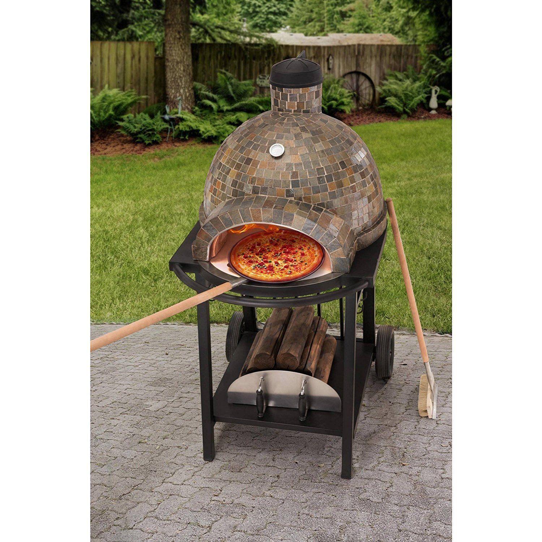 Amazon.com: Wood-Fired Pizza Oven: Garden & Outdoor | Wood ...