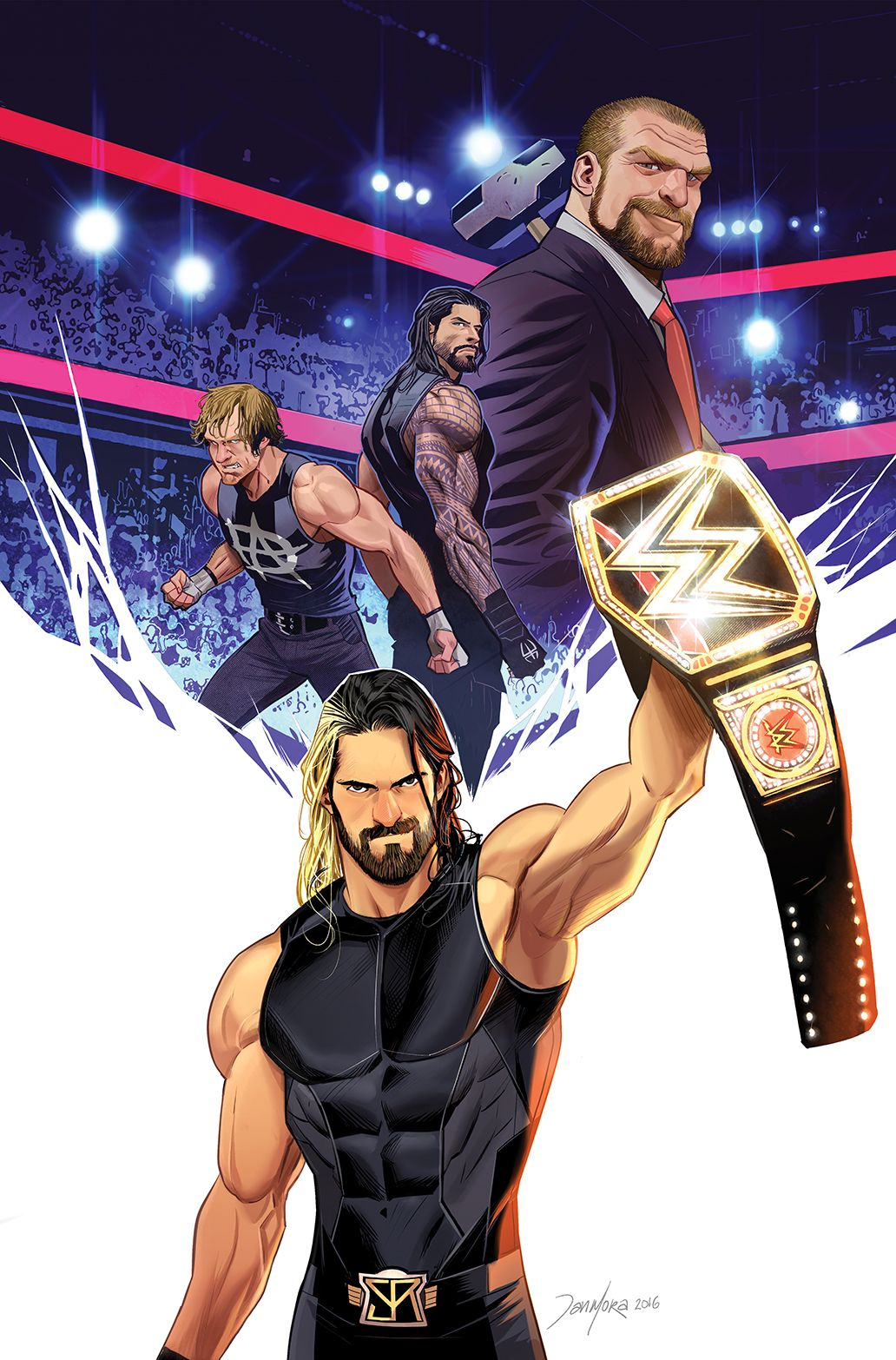 Wow I hate Seth but this is amazing | WWE Wrestling ...