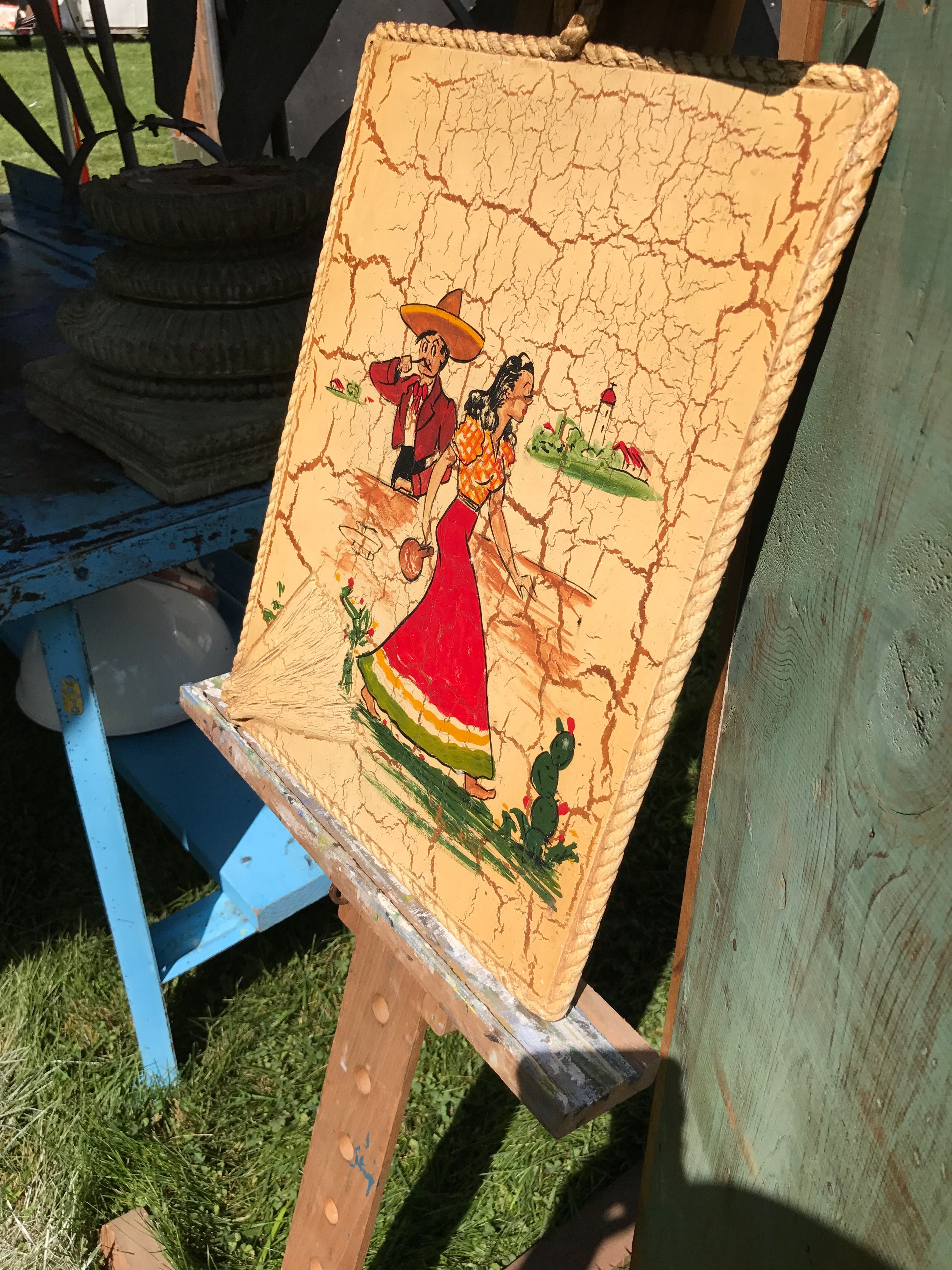 Mexican crackle painting | Mi Casa | Pinterest | Crackle painting