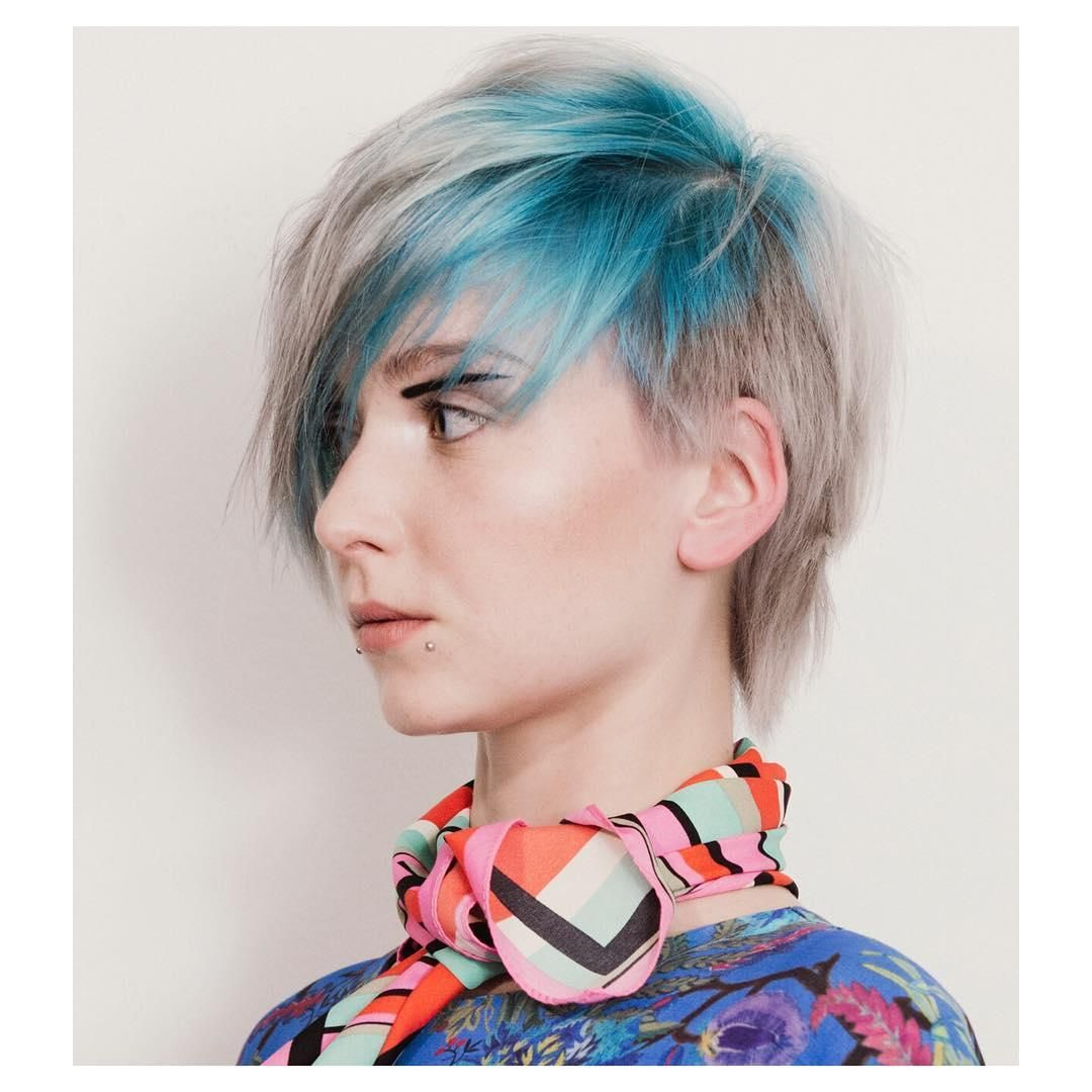 greatest blue hairstyle inspiration lovely and cool blue hair