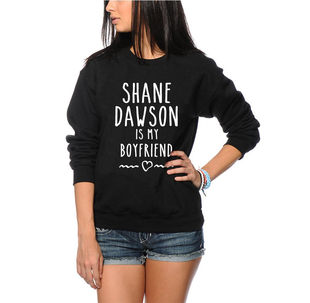 7ad6f0638bd Shane Dawson Is My Boyfriend Sweatshirt - Vlogger Star Youth and Adults  Unisex Jumper Sizes Age 7-8 to Adult XXL by HotScamp on Etsy (null)