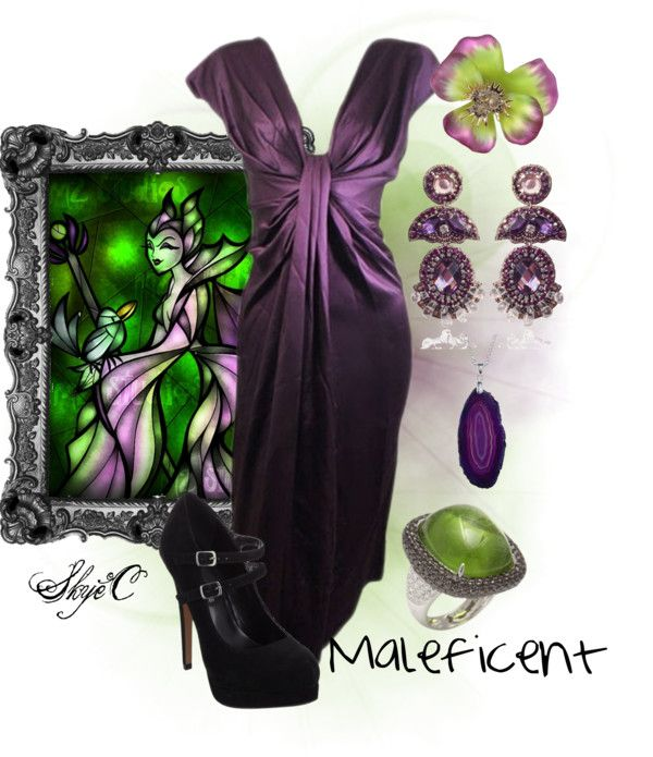 Maleficent Inspired Outfit Movie Inspired Outfits Disney