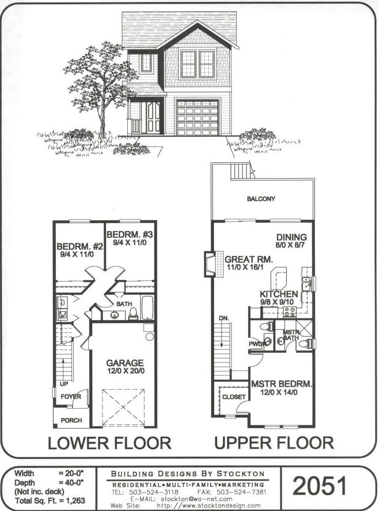 different idea with two bedrooms downstairs | plans | Pinterest ...