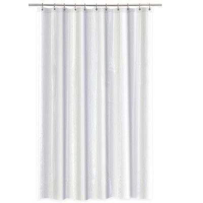 Splash Home 4 Gauge Single Shower Curtain Liner Shower Liner