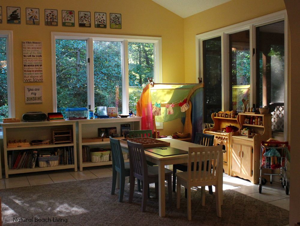 Montessori Amp Waldorf Inspired Homeschool Room Inspired
