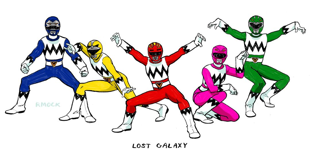 how to draw power rangers easy