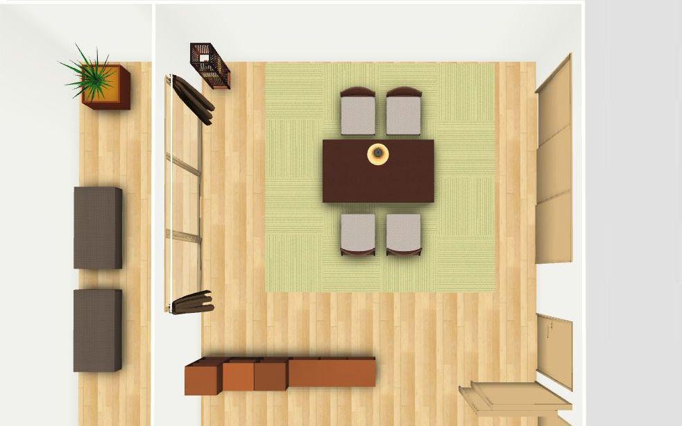 和室 書斎の家具配置とレイアウト例 4 5畳 4畳半 6畳 8畳 A Flat その暮らしに アジアの風を 目黒通り 新宿 大阪梅田 グランフロント北館 8畳 5畳 6畳