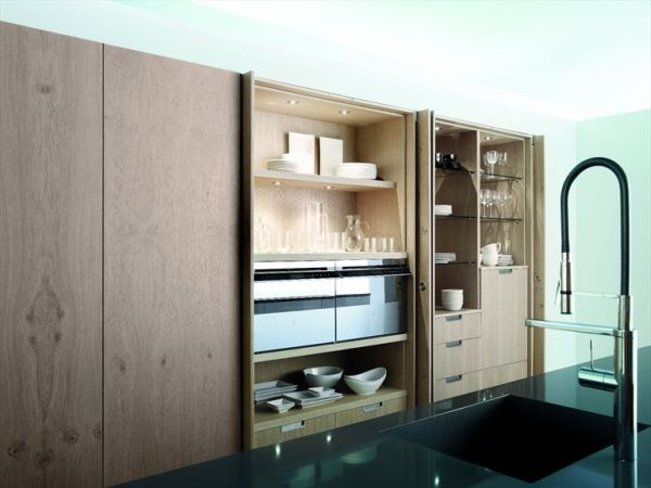 Image Result For Kitchen Cabinet Doors That Retract Kitchen