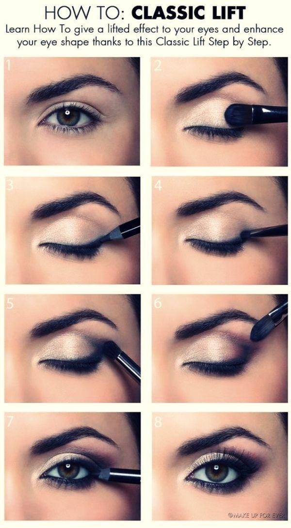 So erhalten Sie eine perfekte Make-up für verschiedene Arten von Augenformen – pintegram.site