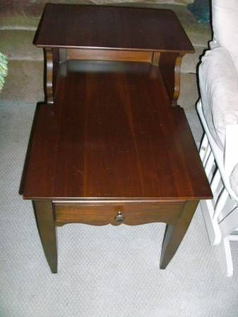 Marblehead Cherry By Willett Side Table In Tallahassee - Furniture tallahassee