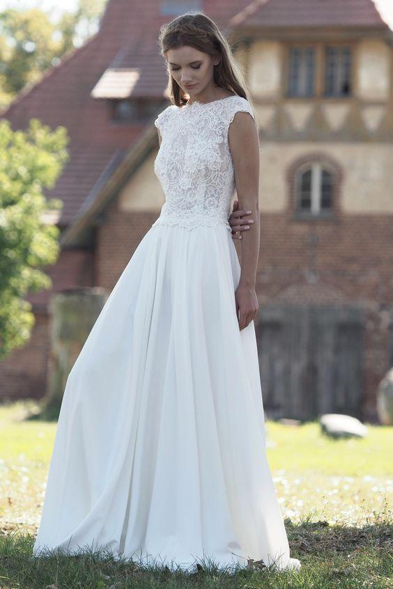 Model Kira (827) – Silk & Lace Brautkleider, wir folgen den neuesten Trends … …