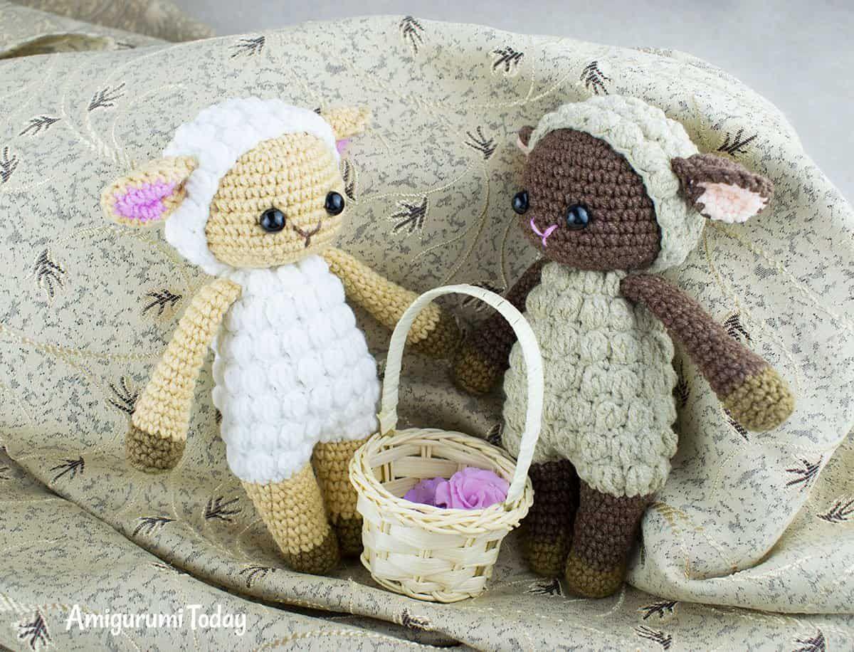 pecore tutorial schema gratis amigurumi uncinetto crochet | 916x1200