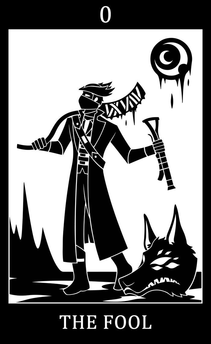 00 - The Fool - The Good Hunter by SunnyClockwork.deviantart.com on @DeviantArt