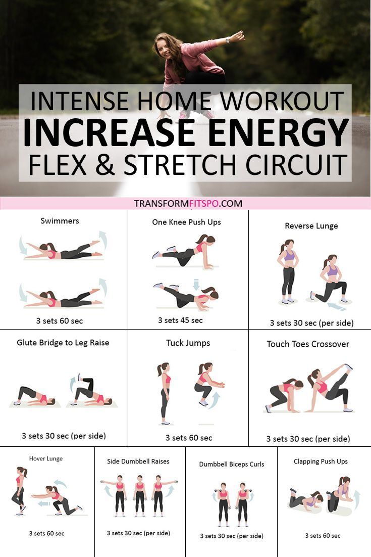 ⚡️ Home Flex and Stretch: Get Ready for All Day Energy with this Revitalizing Workout! – Transform Fitspo