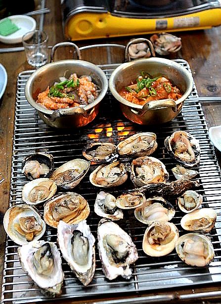 Seafood Korean Bbq  Daeha Seafood Bbq In South Korea -3563