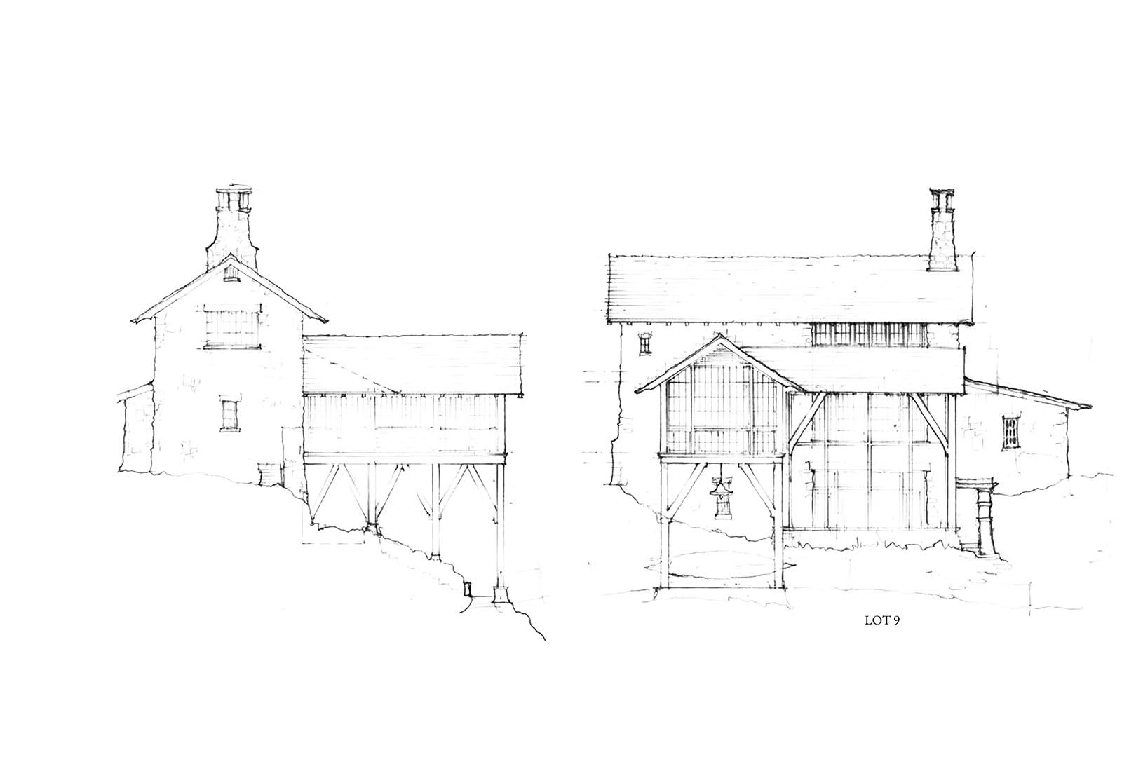 Residential Sketches Nequette Architectural Sketch Sketches Residential