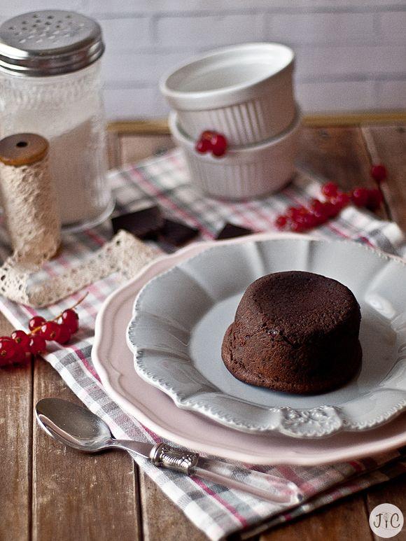 Jaleo en la Cocina: Coulant de chocolate... ¡El pecado chocolateado!