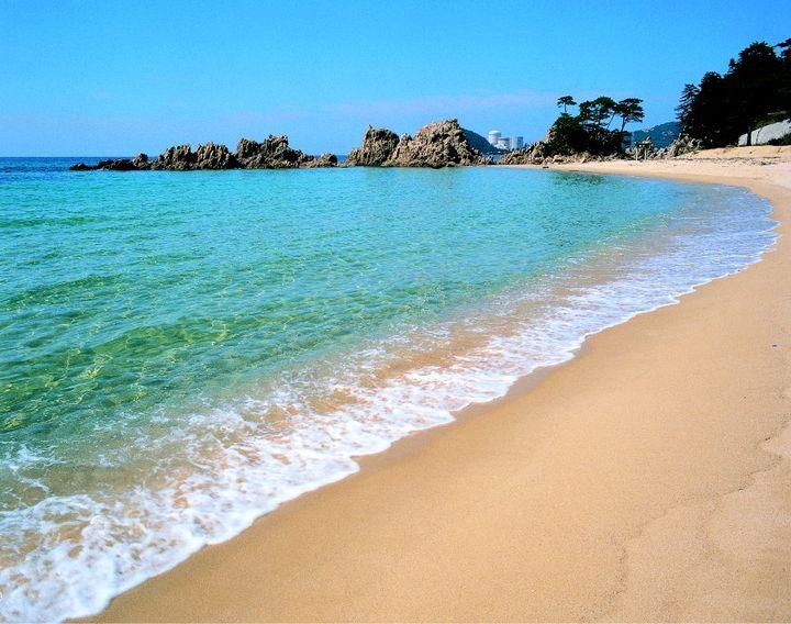 推奨浜のビーチ