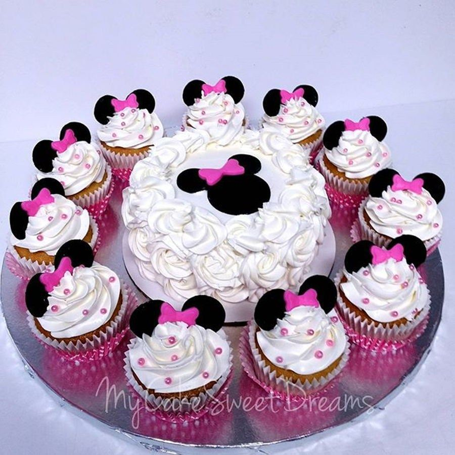 Peachy 21 Wonderful Photo Of Minnie Mouse Cakes 1St Birthday With Birthday Cards Printable Trancafe Filternl