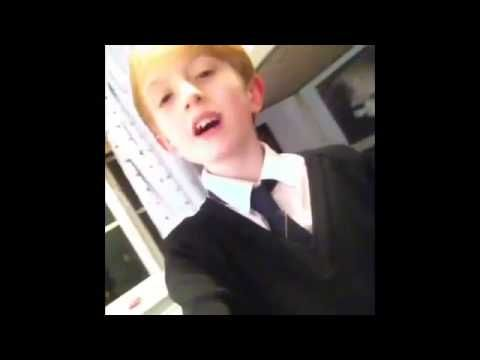 Kid Singing 'The Monster' Eminiem feat. Rihanna NAILS IT - Someone Needs to Sign this kid - YouTube