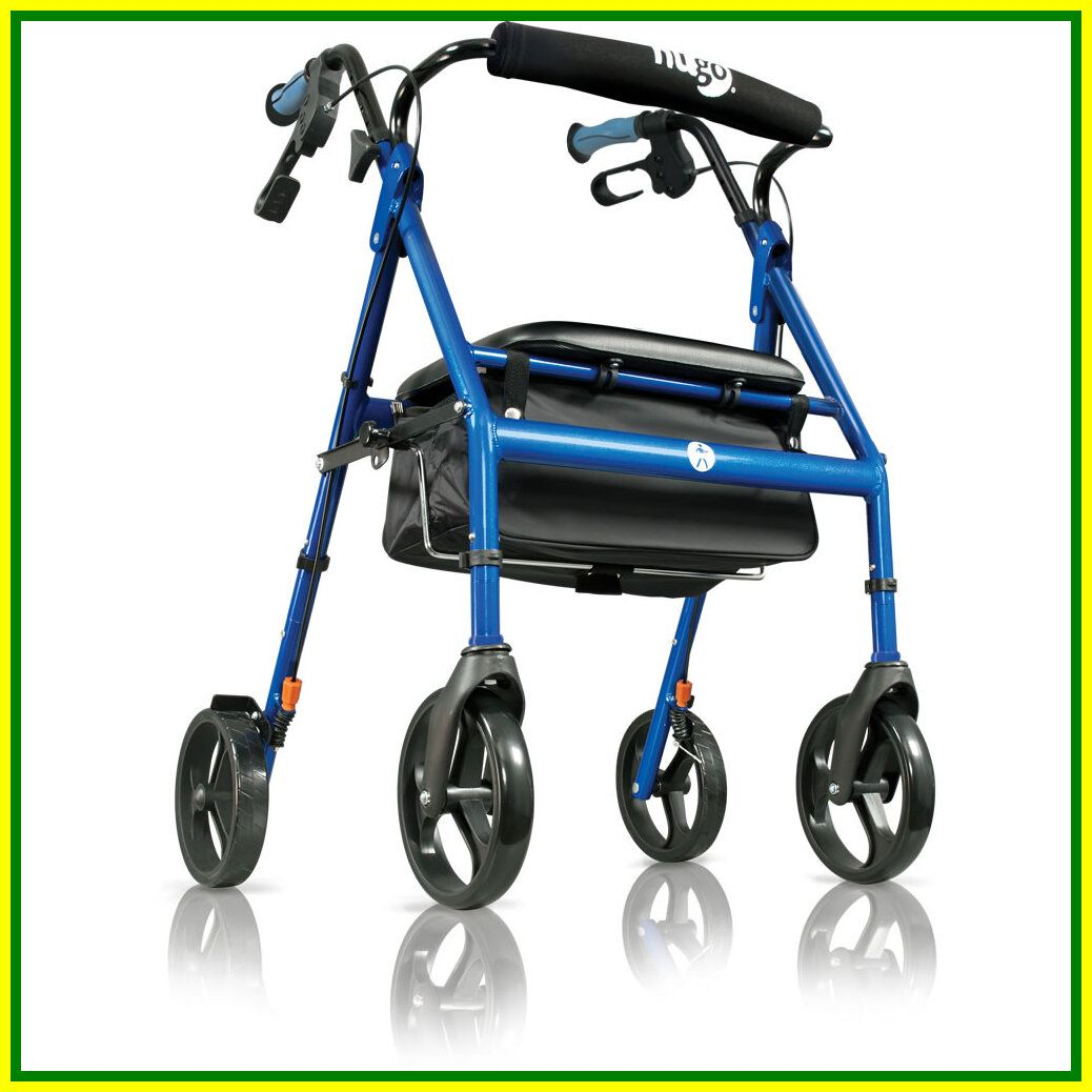 lightweight transport chair with wide seat