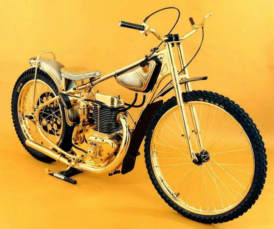 Ivan Maugers Gold Plated Bike Speedway Is My Way Pinterest
