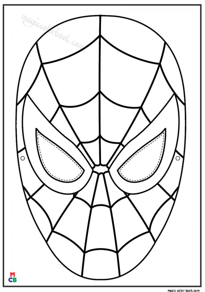 Spiderman Coloring Pages Hero Orumcek Adam Orumcek Boyama Sayfalari