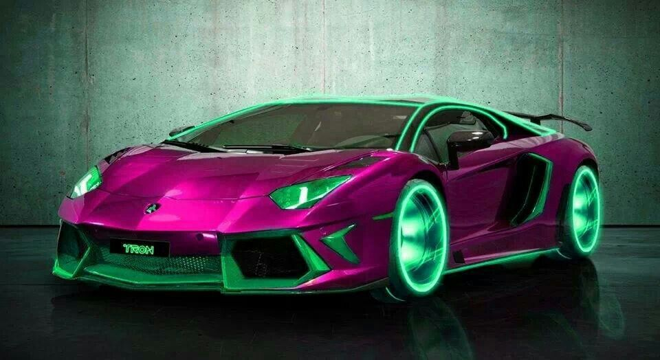 Tron Lambo very cool