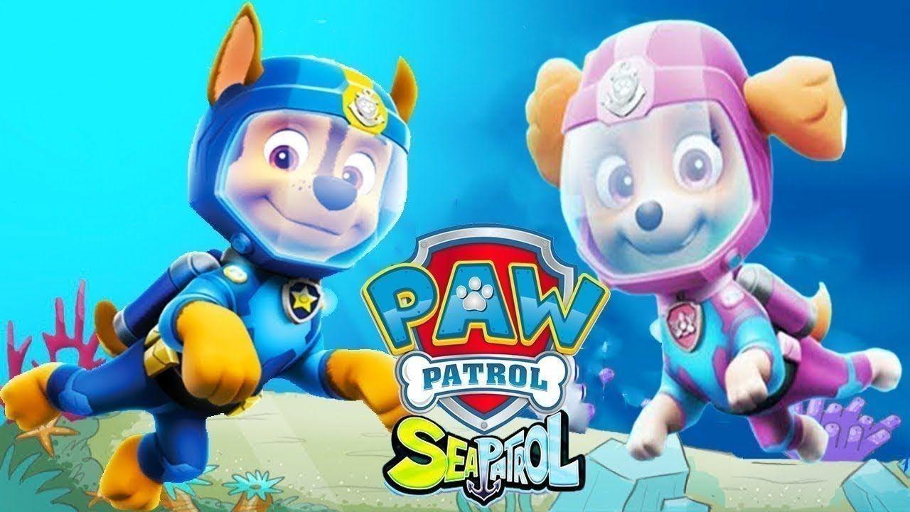 Paw Patrol Sea Patrol Academy Full Episodes 2018 Pups Save Nickelodeon Paw Patrol Full Episodes Nickelodeon Cartoons Fun Games For Kids